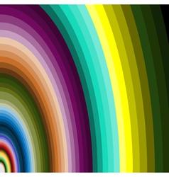 multicolour arcs vector image