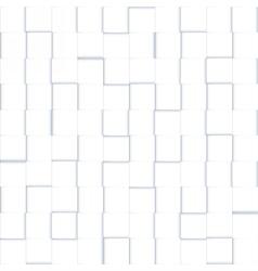 white mosaic pattern vector image