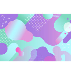 Abstract modern background creative liquid design vector
