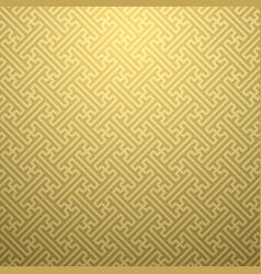 seamless ethnic sayagata geometric pattern vector image