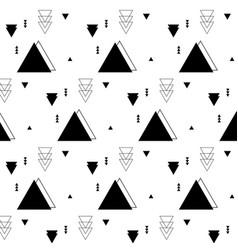 triangle geometric elements flat pattern vector image