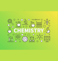 Chemistry concept vector