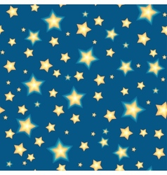 Seamless bacgkround with cartoon stars vector image vector image