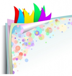 background colored vector image vector image