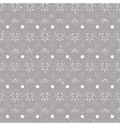 Christmas seamless pattern simple vector image vector image