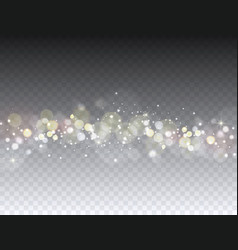 abstract bokeh background light effect vector image