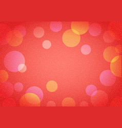 abstract new year background in bokeh vector image
