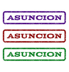 Asuncion watermark stamp vector