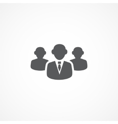 Audience icon vector