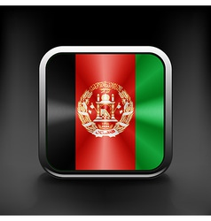 Flag of Afghanistan Accurate dimensions elements vector