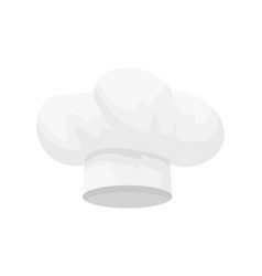 hat of chef cooking cap hand drawn icon vector image