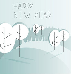 new year background with copy space vector image