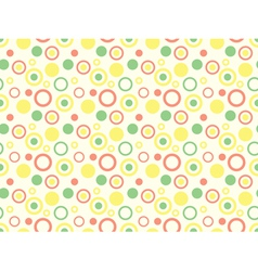 pattern with circles vector image