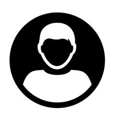 person icon male user profile avatar symbol vector image