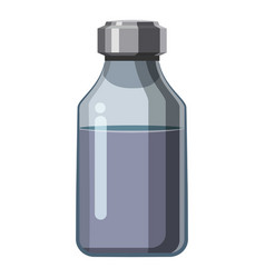 Pharmacy drops icon cartoon style vector