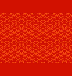 seamless ethnic seigaiha geometric pattern vector image