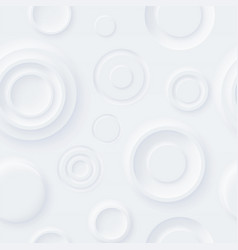 seamless neumorphism style pattern soft clear vector image