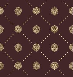 royal baroque seamless pattern vector image