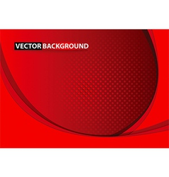 Abstract curve background vector image