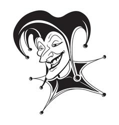 joker icon3 resize vector image