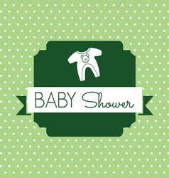 bebi shower2 resize vector image