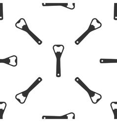 Bottle opener icon vector