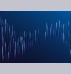 Digital blue lines streams visual optic technology vector