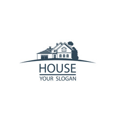 emblem of house vector image
