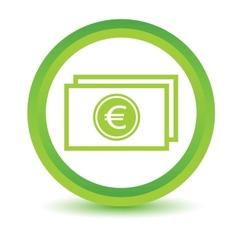 Green Buck icon vector image