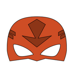 mask superhero icon image vector image