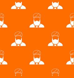 Muslim preacher pattern seamless vector