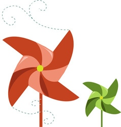 Pinwheel spinner vector