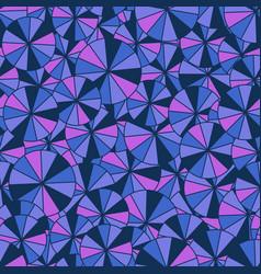 Purple umbrella pattern vector