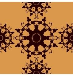 Seamless Tile Based on Rorschach inkblot test vector