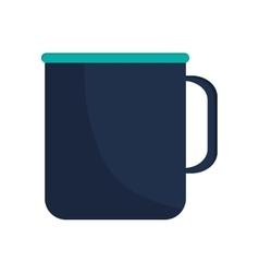 single mug icon vector image vector image