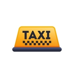 Taxi icon Flat designed vector