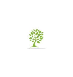 Tree nature plant eco logo vector