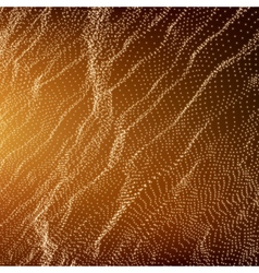 Wave Grid Background 3D Technology Style vector