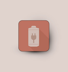 charge battery icon vector image