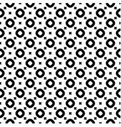 seamless pattern with smooth squares and rings vector image vector image