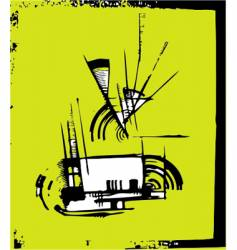 grunge design element vector image