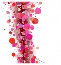 abstract background pink vector image vector image