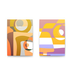 abstract backgrounds for cafe menu retro design vector image vector image