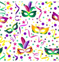 Carnival seamless background vector image vector image