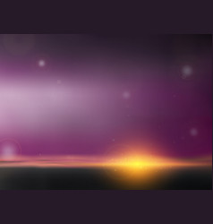 abstract of twilight background in sunset of vector image