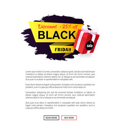black friday super discount and price reduction vector image
