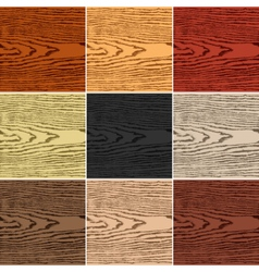 Color wood texture background vector image