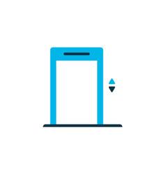elevator icon colored symbol premium quality vector image