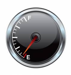 Gas gauge illustration vector