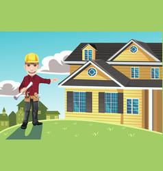 Home builder vector